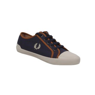 Fred Perry Herren Schuh Turnschuh Sneaker B2203 266 Carbon Blue 5530