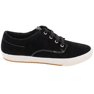 Fred Perry Schuh Turnschuh Sneaker B9051 102 Morris Suede Schwarz 5804
