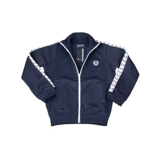 Fred Perry Kids Trainer SY6231 266 Carbon Blue Kinder Trainingsjacke 7416