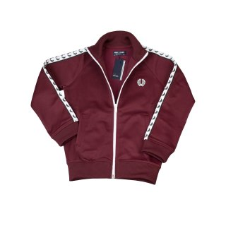 Fred Perry Kids Trainer SY6231 A27 Kinder Trainer Tawny Port Dunkelrot 7415