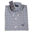 Fred Perry Button Down Langarmhemd Four Color Gingham...