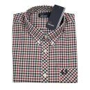 Fred Perry Button-Down Langarmhemd Four Color Gingham...