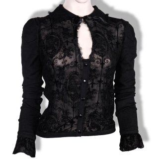 Banned Bluse Cameo Schwarz