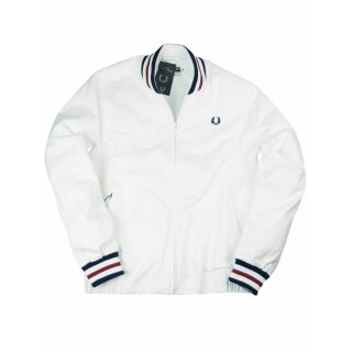 Fred Perry Jacke Original Tennis Bomber Jacket Made in England J1307 100 7107